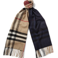Burberry Shoes & Accessories - Checked Cashmere Scarf | MR PORTER