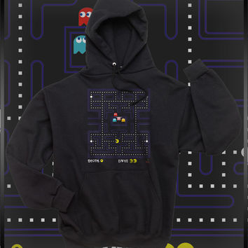 Pacman Clasic game Unisex Pullover Hoodie