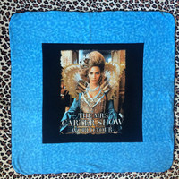 BEYONCE - Upcycled T-shirt Mini Baby Quilt - ooak