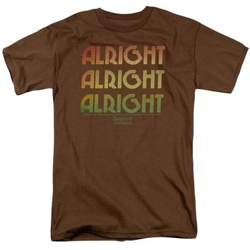 Dazed And Confused - Alright Z Short Sleeve Adult 18/1