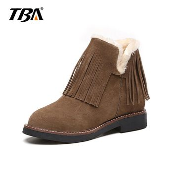 2019 New Women Winter Boots Warm Fur Furry Lady Snow Boots Plush Ugs Australia Boots Women Shoes Platform Ankle Boots For Women