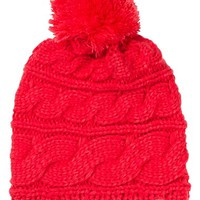 The North Face 'Triple Cable Pom' Beanie | Nordstrom