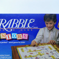 Vintage Scrabble For Juniors Board Game 1989