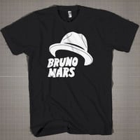 Bruno Mars Hat  Mens and Women T-Shirt Available Color Black And White