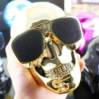 Portable Mini Skull Bluetooth Speaker