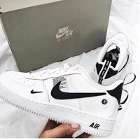 NIKE AIR FORCE 1'07 LOW Deconstruction OW AF1 Casual Fashion Sneakers White