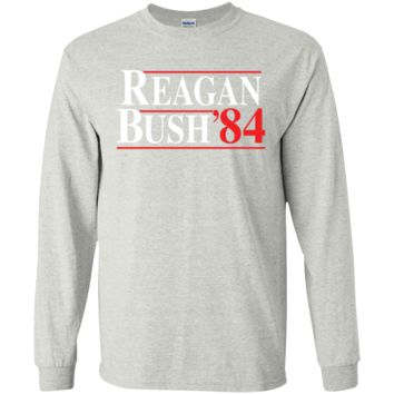 Reagan Bush 84 Long Sleeve Shirt