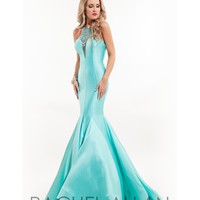 Preorder - Rachel Allan 7149 Aqua Mint Sexy Mermaid Long Gown 2016 Prom Dresses