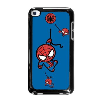 SPIDERMAN KAWAII Marvel Avengers iPod Touch 4 Case Cover
