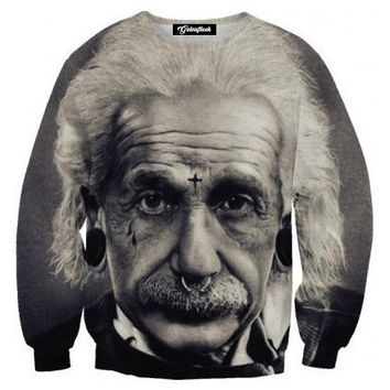 Einstein the Badass Crewneck