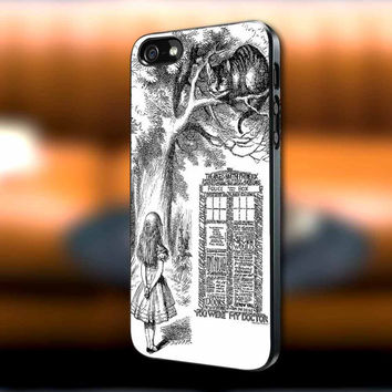 Alice in Wonderland Dr Who Quote iPhone case, Alice in Wonderland Samsung Galaxy s3/s4 case, iPhone 4/4s case, iPhone 5 case