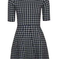 Grid Jacquard Flippy - Dresses - Clothing