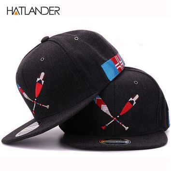 Arrival boating snap back cap embroidery baseball cap youth cool flat brim hip hop hat for boys and girls