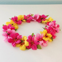 Crystal Cove - flower crown, flower halo, flower headband