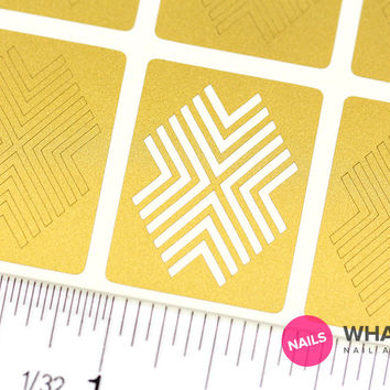 X-pattern Stencils | Stickers & Stencils | Whats Up Nails | Nail Art Store