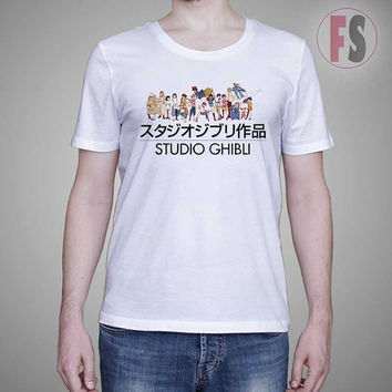 Totoro Project Animation Studio Ghibli AllukaArtTees Unisex Adult Tees