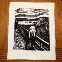 The Scream Punk Patch