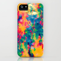 Summer Swirl iPhone Case by Caleb Troy