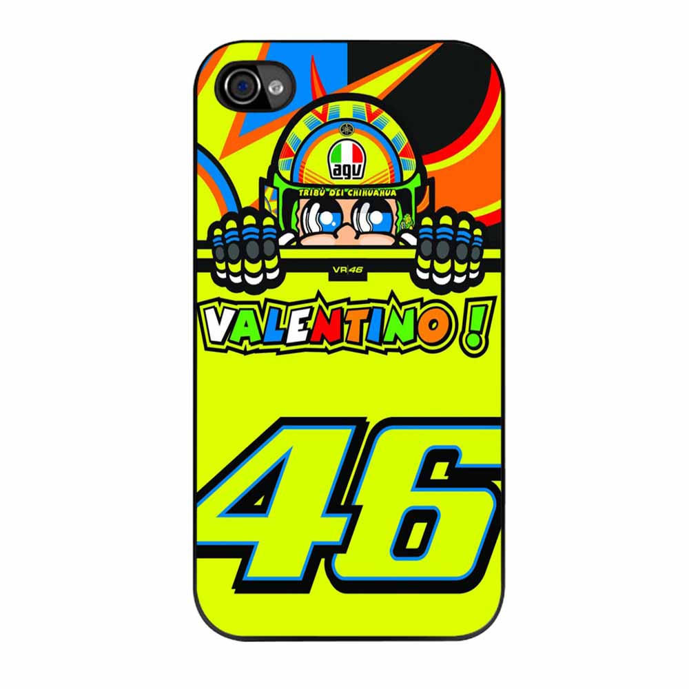 Valentino Rossi The Doctor 46 Logo Iphone From Iphone Case
