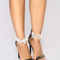 Crystal Daze Heel - Black