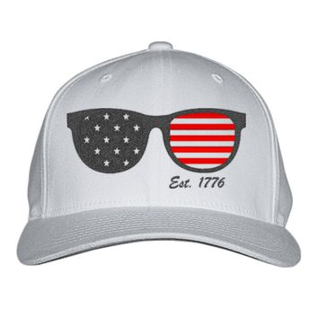 Est 1776 4th Of July Embroidered Baseball Cap