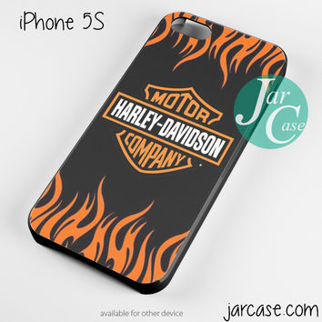 harley davidson flame logo Phone case for iPhone 4/4s/5/5c/5s/6/6 plus