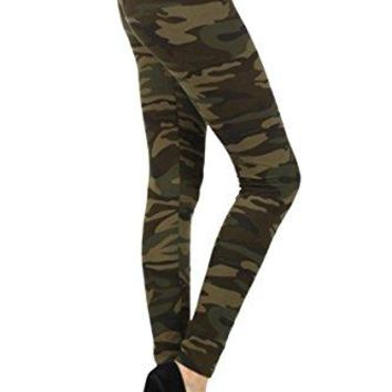 Leggings Depot Women's Fall/Winter Ultra Soft Popular Best Printed Fashion Leggings