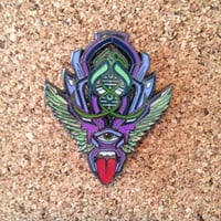 Above and Beyond Bassnectar hat pin by Jesse Yuan