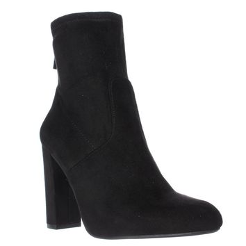 Steve Madden Brisk Stretch Ankle Booties, Black, 10 US