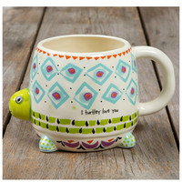 Natural Life Folk Mug - Turtle