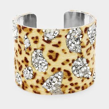 JAIDA - Leopard Jungle Cuff