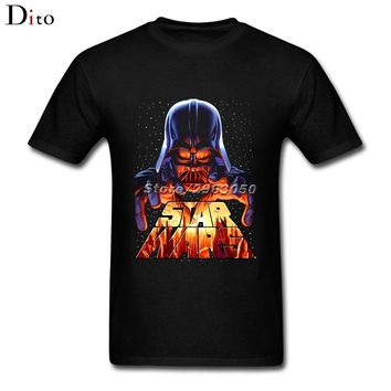 Star WARS Darth Vader T Shirt Men's Costume Short Sleeve Thanksgiving Day