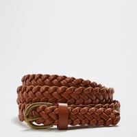 Cognac Braided Belt | Belts | rue21