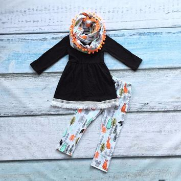 Fall Boutique set with Scarf