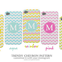 Trendy Chevron Pattern iPhone Cases - Oh So Girly!