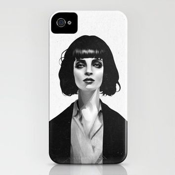 Mrs Mia Wallace iPhone Case by Ruben Ireland | Society6