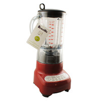 New 2014 Breville BBL605CBXL Hemisphere Control Electric Blender Cranberry Red