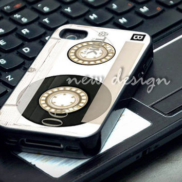 Clear Vintage Cassette case for iphone 4/4S, iphone 5/5C, samsung galaxy s3, samsung galaxy s4, ipod 4 and ipod 5