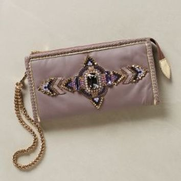 Zanzi Wristlet Clutch by Buba Dark Purple One Size Clutches