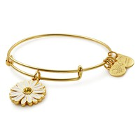 Alex and Ani Daisy Expandable Wire Bangle | Bloomingdales's