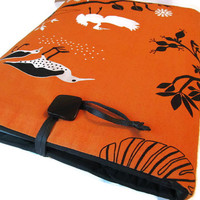 "Macbook pro 15"" Cover  Macbook Retina 13""  Case Orange Cotton  Bird Cover"