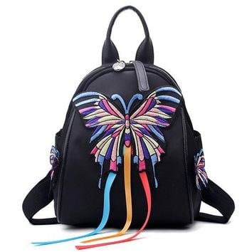Butterfly Pattern National Backpack
