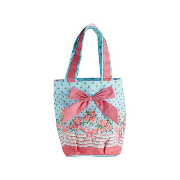 Bows and Roses Lunch Tote