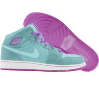 Air Jordan 1 Phat (mineral blue / copa / bright violet) Shoes 364781-401 | PickYourShoes.com