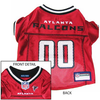 Atlanta Falcons NFL Dog Jersey - Extra Small