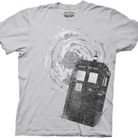 Doctor Who Tardis T-Shirt at Old School Tees | TV Show Tees