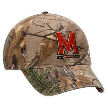 Maryland Terrapins '47 Brand Clean Up Adjustable Hat – Realtree Camo