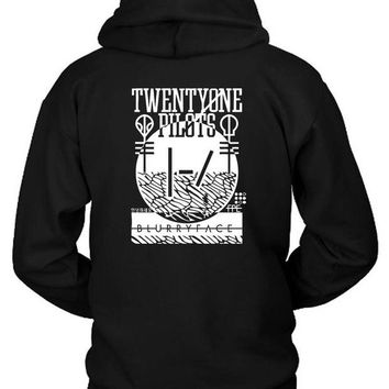 DCCK7H3 Twenty One Pilots Hoodie Two Sided