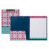 Pink CharmerClipboard & Padfolio Set-Stay Organized in Style!