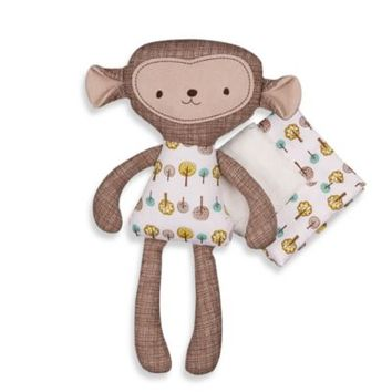 Lolli Living™ by Living Textiles Baby Mix & Match Toy and Blanket Set in Rocco Monkey